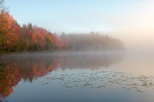 Early Morning, Halfmoon Lake, Hiawatha National Forest, Michigan