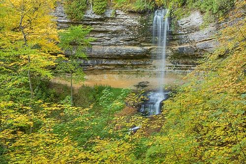 Munising Falls, Pictured Rocks National Lakeshore, Michigan
