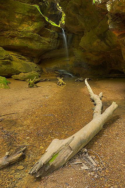 Gorge Waterfall, Conkle's Hollow State Nature Preserve, Ohio