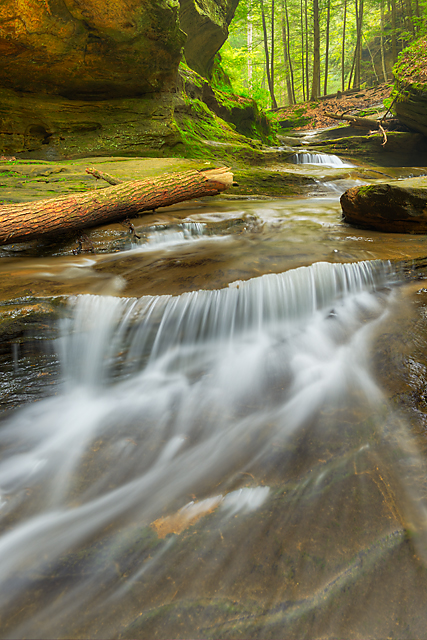Cascade, Old Man's Cave Area, Hocking Hills State Park, Ohio