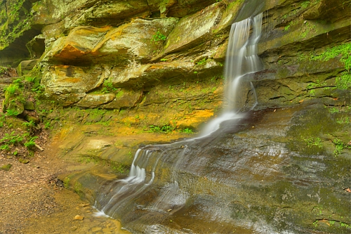 Unnamed Falls, Old Man's Cave Area, Hocking Hills State Park, Ohio