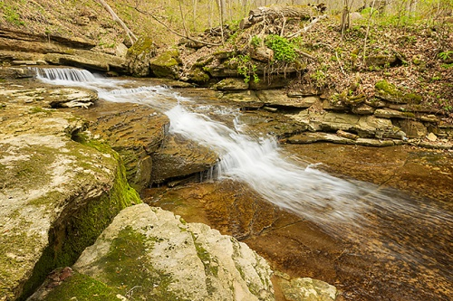 Little Clifty Creek, Clifty Falls State Park, Indiana