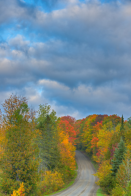 Burton Hill Road Morning, Orleans County, Vermont