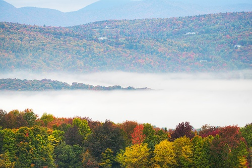 Burton Hill Road View, Orleans County, Vermont