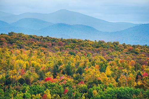 Nichols Ledge View, Washington County, Vermont